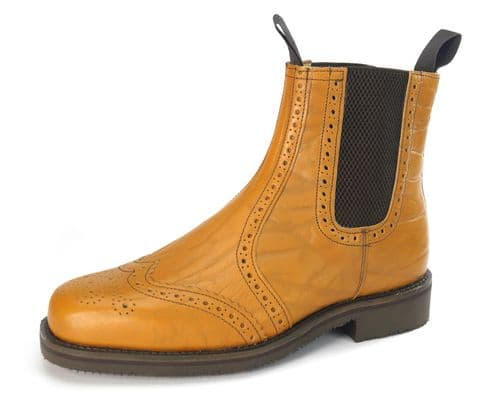 Charles Horrel - Haydock CH2001 Tan Grain Welted Boots